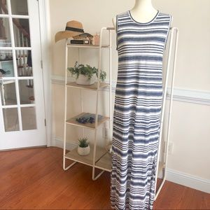 Velvet by Graham & Spencer striped linen maxi